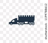 lorry vector icon isolated on... | Shutterstock .eps vector #1199788612