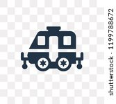 caravan vector icon isolated on ... | Shutterstock .eps vector #1199788672