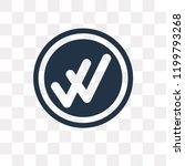 double checking vector icon... | Shutterstock .eps vector #1199793268