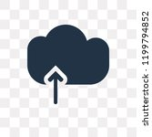 upload to cloud vector icon...   Shutterstock .eps vector #1199794852