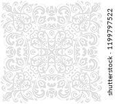 oriental vector pattern with...   Shutterstock .eps vector #1199797522