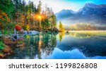 Autumn Sunrise Of Hintersee...