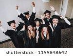 best friends. finish studies.... | Shutterstock . vector #1199848642