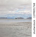 view of the unique lake salar...   Shutterstock . vector #1199851768