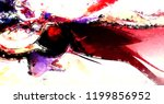 modern art. colorful... | Shutterstock . vector #1199856952