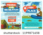 fishing and recreation ... | Shutterstock .eps vector #1199871658
