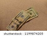 money twenty dollar bills   Shutterstock . vector #1199874205