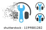 headphones tuning wrench icon... | Shutterstock .eps vector #1199881282
