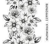 abstract elegance seamless... | Shutterstock . vector #1199939698
