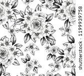 abstract elegance seamless... | Shutterstock . vector #1199939758