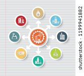 gas industrial icon info... | Shutterstock .eps vector #1199941882