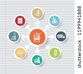 gas industrial icon info... | Shutterstock .eps vector #1199941888