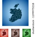 map of ireland   Shutterstock .eps vector #1199975218