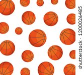 basketball balloon sport icon | Shutterstock .eps vector #1200026485
