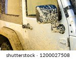 dirty white truck that needs to ... | Shutterstock . vector #1200027508