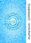 assorted realistic light blue... | Shutterstock .eps vector #1200048922