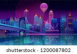 vector concept background with... | Shutterstock .eps vector #1200087802