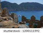 kekova   sunken city    antalya ... | Shutterstock . vector #1200111592