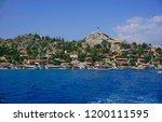kekova   sunken city    antalya ... | Shutterstock . vector #1200111595