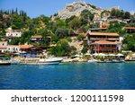 kekova   sunken city    antalya ... | Shutterstock . vector #1200111598