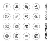 strip icon set. collection of... | Shutterstock .eps vector #1200113338