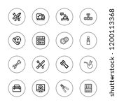 wrench icon set. collection of...   Shutterstock .eps vector #1200113368