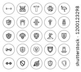 strong icon set. collection of...   Shutterstock .eps vector #1200123298