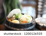 various and delicious korean... | Shutterstock . vector #1200126535