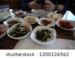 various and delicious korean... | Shutterstock . vector #1200126562