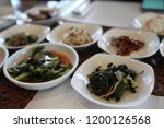 various and delicious korean... | Shutterstock . vector #1200126568
