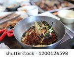 various and delicious korean... | Shutterstock . vector #1200126598