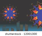 illustration of celebration... | Shutterstock . vector #12001300