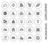community icon set. collection... | Shutterstock .eps vector #1200130405