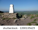 overlooking the cheshire plains ...   Shutterstock . vector #1200135625