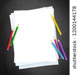 top veiw vector illustration of ... | Shutterstock .eps vector #1200144178