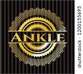 ankle golden emblem or badge | Shutterstock .eps vector #1200155695