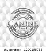 canine grey emblem. retro with...   Shutterstock .eps vector #1200155788