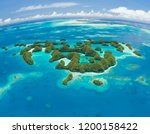 Palau 70 Islands Aerial Shot - Fine Art prints