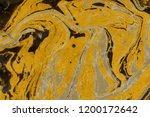 gold luxury marble ink texture... | Shutterstock . vector #1200172642