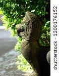 Khmer Lion Guardians Statue