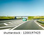 french autoroute highway exit... | Shutterstock . vector #1200197425