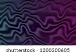 abstract colorfull wave element ... | Shutterstock .eps vector #1200200605