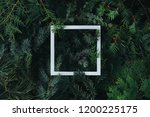 2019 merry christmas and happy... | Shutterstock . vector #1200225175