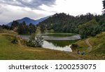 deoria tal is a lake about 3 km ... | Shutterstock . vector #1200253075