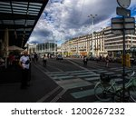 jeneva  switzerland   sep 22 ... | Shutterstock . vector #1200267232