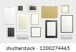 a4 horizontal vertical and... | Shutterstock .eps vector #1200274465