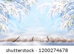 winter colorful christmas... | Shutterstock . vector #1200274678