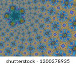 a hand drawing pattern made of... | Shutterstock . vector #1200278935