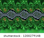 a hand drawing pattern made of... | Shutterstock . vector #1200279148