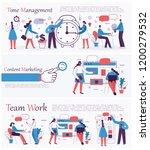 set of vector concept... | Shutterstock .eps vector #1200279532